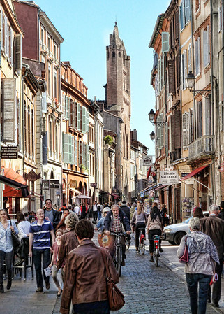 France Tour Toulouse to Paris May 2014
