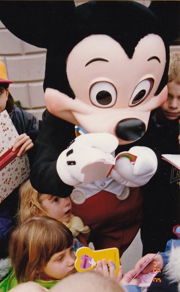 Kiersten with Euro Mickey