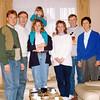Phillipe Kurzweil, Karl Kurzweil, Veronika Kurzweil, Kiersten Donaldson, Nancy Donaldson, John Donaldson, and Eliska Kurzweil in the Kurzweil home.