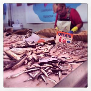 Barcelona market.