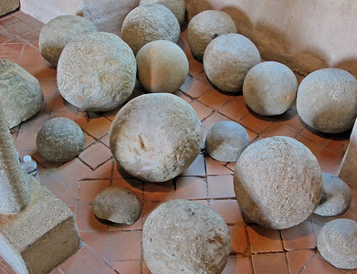 Really Old Cannon Balls
