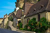 One of the steep village streets of Beynac