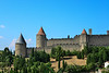 In 1067, Carcassonne became the property of Raimond Bernard Trencavel, viscount of Albi and Nîmes, through his marriage with Ermengard, sister of the last count of Carcassonne. In the following centuries, the Trencavel family allied in succession either with the counts of Barcelona or of Toulouse. They built the Château Comtal and the Basilica of Saint-Nazaire. In 1096, Pope Urban II blessed the foundation stones of the new cathedral, a Catholic bastion against the Cathars.[