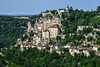 Rocamadour is in the Lot department of the Midi-Pyrenees, near the eastern border of the Dordogne department. Situated in the Regional Natural Parc of the Causses de Quercy Rocamadour receives more than a million visitors - tourists and pilgrims - each year. And has a population of 600.