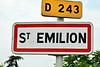 Signage to Saint-Emilion