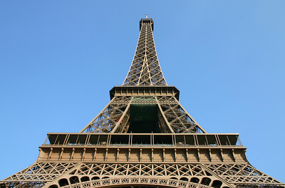 The famous Eiffel Tower.