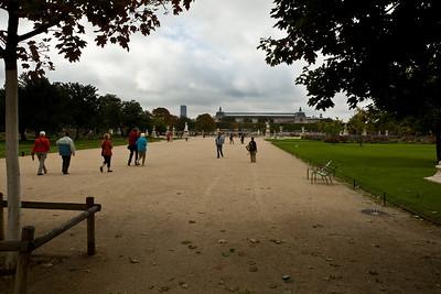 Les tuileries, l'Orangerie - September 24th 2010