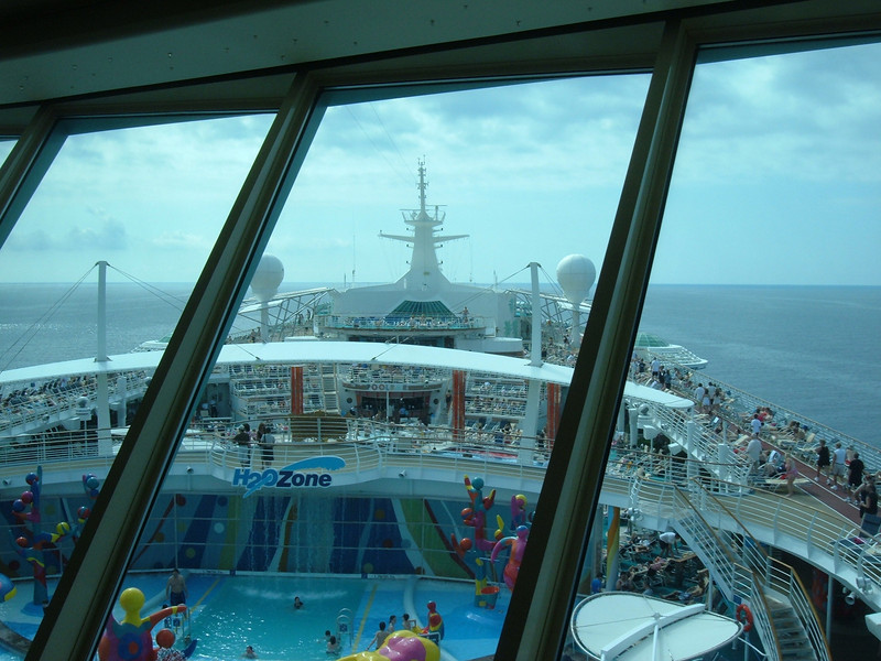 View from deck 14 Olive and Twist's window