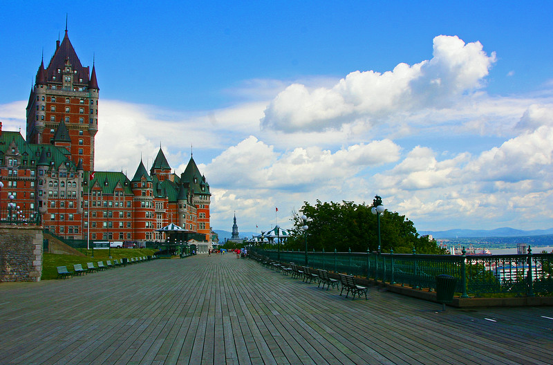 Chateau Frontenac from the Terrance