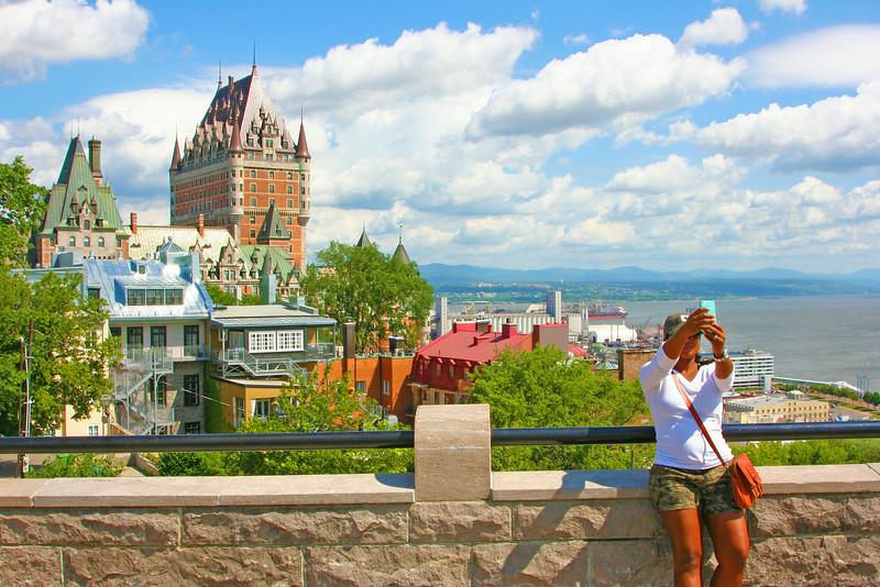 Chateau Selfie