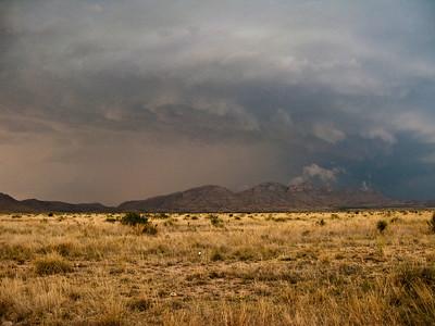 Storm near Marathon, TX