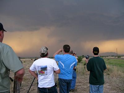 Roger Hill explaining storm structure