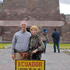 Dick and Mary On the Equator!