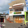 Town of Puerto Ayora - notice the Internet cafe sign.