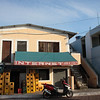 Town of Puerto Ayora - this Internet cafe offers HYPER FAST service.