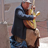 Street musician - one of many.