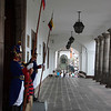 Ceremonial guard at Presidential Palace.