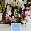 Tribute to roses in the Marriot where we stayed.
