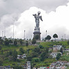 Statue of the Virgin Mary overlooking Quito.