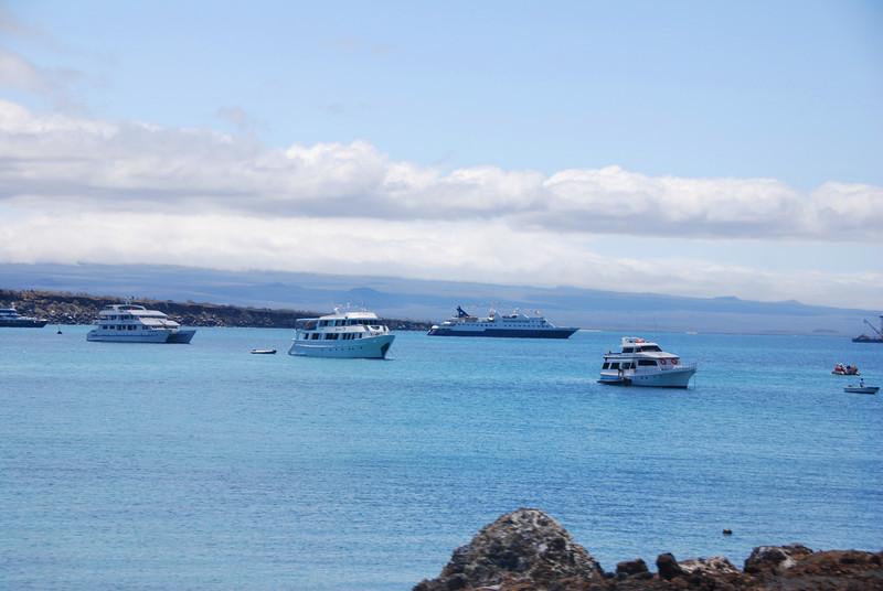 Baltra Harbor