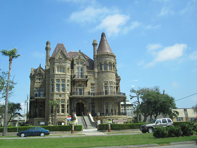 The Bishop's Palace, also known as Gresham's Castle, is an ornate Victorian house located on Broadway and 14th Street in the East End Historic District of Galveston, Texas. The American Institute of Architects has listed the home as one of the 100 most significant buildings in the United States, and the Library of Congress has classified it as one of the fourteen most representative Victorian structures in the nation.