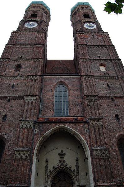 Old Catholic (?) church near Marienplatz in Munich