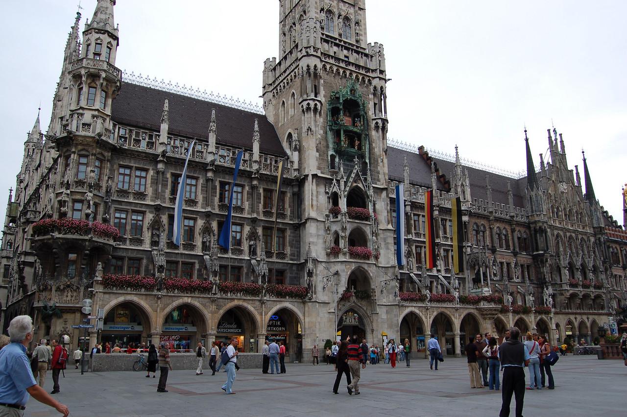 Rathaus and Glockenspiel in Munich