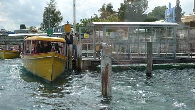 boot op meer van Geneve