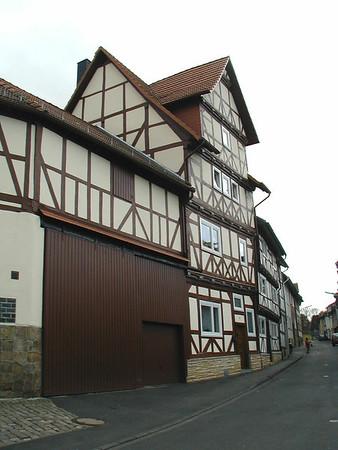 Baeckergasse Rathaus Altstadt