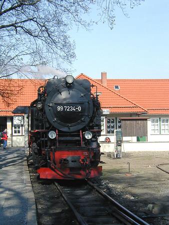 Brockenbahn und Wernigerode