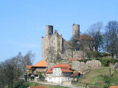 Burg Hanstein und Grenzmuseum Schifflersgrund