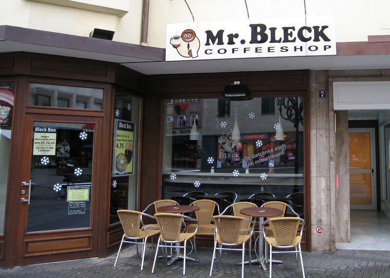 You can't resist Mr. Bleck Coffee