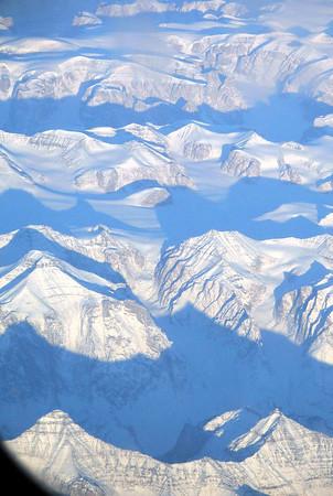 Flight over Iceland Oct 2005