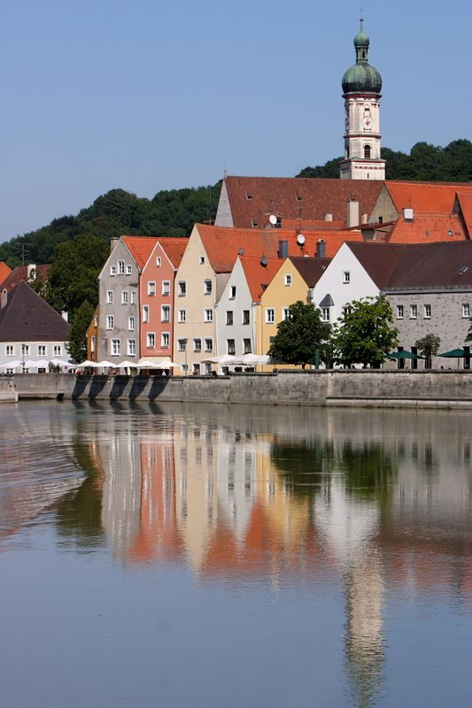 Landsberg am Lech<br /> <br /> We happened to find this great old part of town while driving around searching for food.