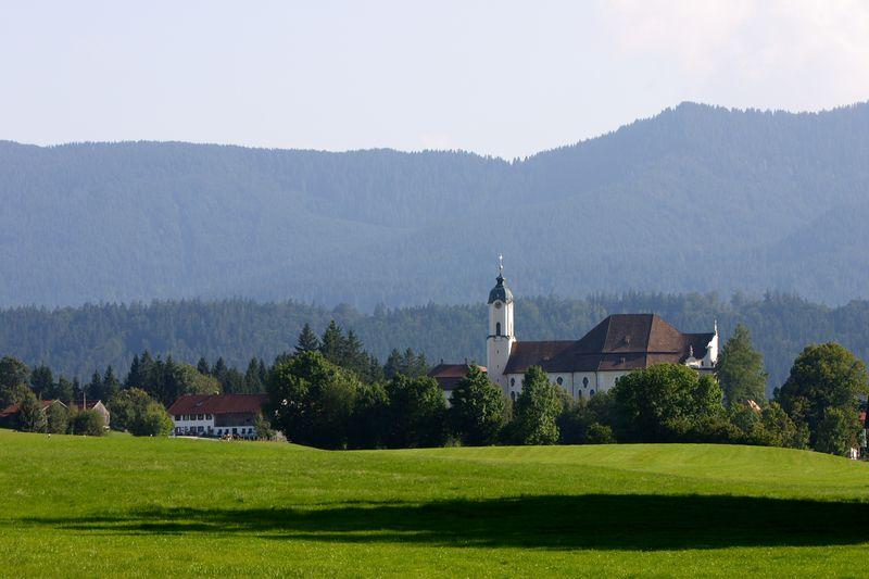 Wieskirche - church on the meadow