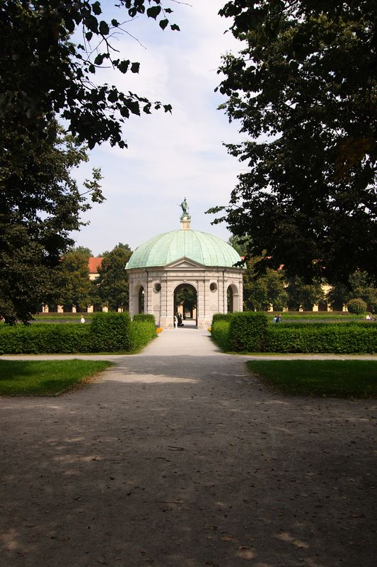 Hofgarten outside the Residenz - Munich
