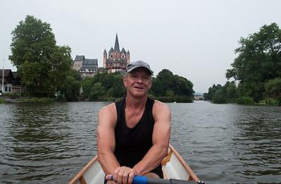 Rudern auf der Lahn  Limburger Dom & Schloss
