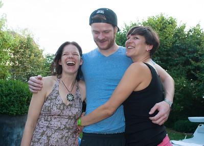Thomas, Katrin, und ich