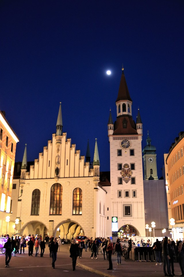 The Altes (old) Rathaus or city hall is now a toy museum.