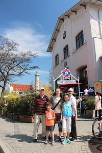 We had lunch at this biergarten close to Marienplatz.