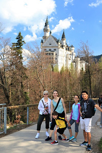 Walking back down to Neuschwanstein.