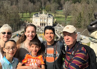 All of us at Schloss Linderhof.