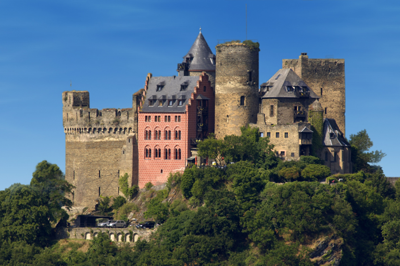 Schönburg Castle.  We spent the night here in this fantastic castle turned hotel and restaurant.  It dates to 1166!