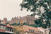 Heidelberg Castle from the Kornmarkt.