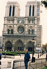 The main attraction for us, though, was the Cathedras of Notre Dame, on the Ile de la Cite.