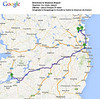 The full path, Drogheda to Newgrange to Knowth to Dublin to Shannon to Home (the long way!)