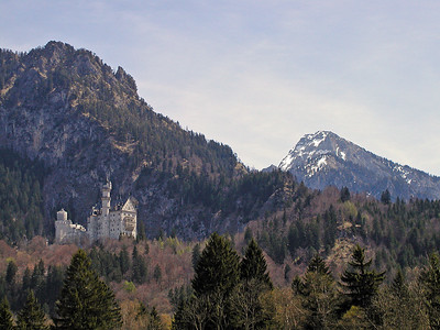 Neuschwanstein Castle.  Took this picture on the way to the castle.