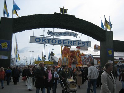 Oktoberfest in Munich. Also called Weisn.  See the Oktoberfest website.