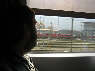 Ken and I left Munich by train, headed for Heidelberg.