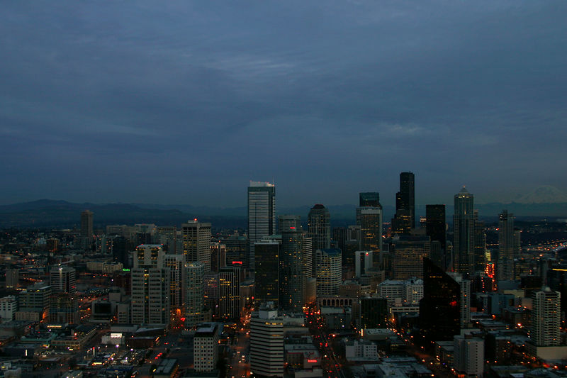 Seattle Cityscape.